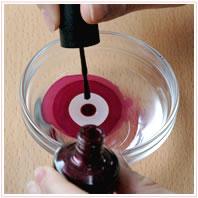 esmalte de colores para uñas