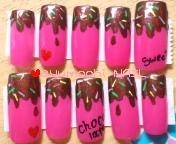 ピンクチョコレート