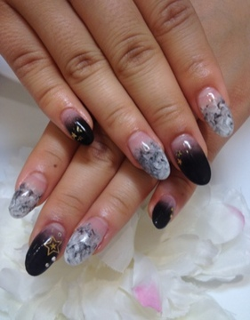 winter nail 冬