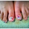 80's triangle nail★